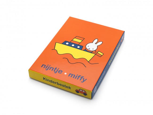 Kinderbesteck 4tlg Miffy Fahrzeuge Edelst.