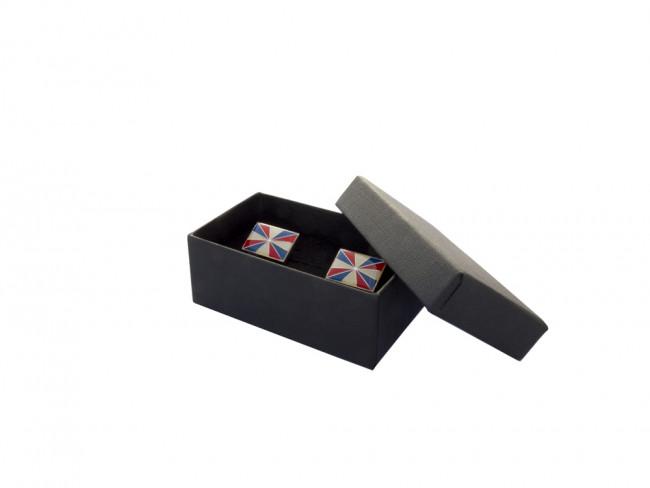 Geschenkbox für 2 Manschettenknöpfe