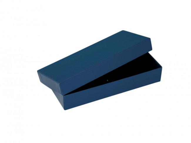 Geschenkbox für 1-3 Schreibgeräte, blau