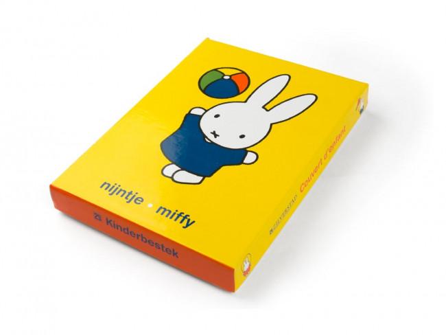 Kinderbesteck 4tlg Miffy Edelstahl farbig