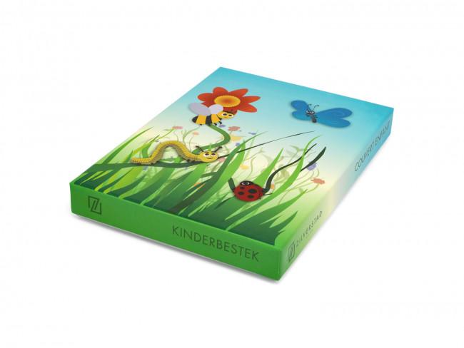 Kinderbesteck Insekten 4tlg Edelstahl