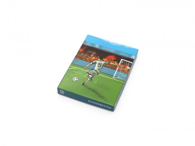 Kinderbesteck Fußball 4tlg Edelstahl