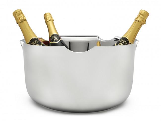 Champagnerschale doppelwandig Edelstahl ø39cm
