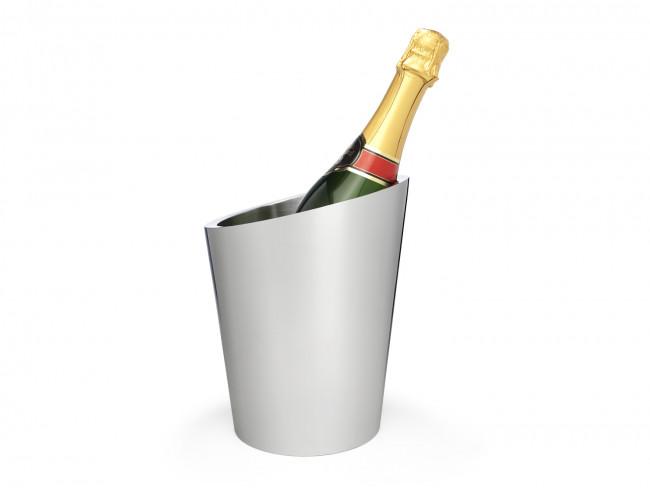 Champagnerkühler Edelstahl doppelwandig