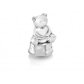 Spieluhr/Spardose Bär mit Herz
