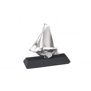 Segelschiff auf Sockel 925er Silber