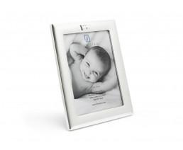 Fotorahmen Krone 13x18 cm, versilbert anlaufgeschützt