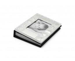 Fotoalbum Baby, versilbert anlaufgeschützt